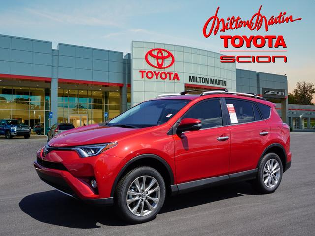 new 2016 toyota rav4 limited limited 4dr suv in gainesville 36225 milton martin toyota. Black Bedroom Furniture Sets. Home Design Ideas