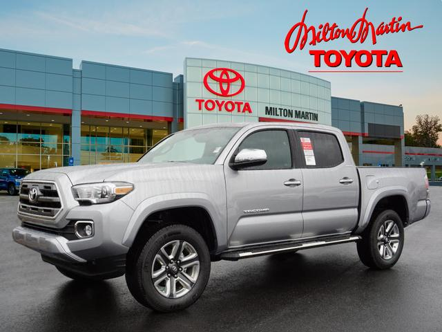 new 2017 toyota tacoma limited 4x4 limited 4dr double cab 5 0 ft sb in gainesville 37116. Black Bedroom Furniture Sets. Home Design Ideas